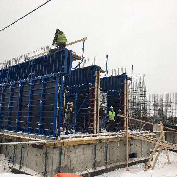 Ход строительства комплекса Алгоритм фото ноябрь 2016